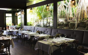 Locale restaurant at Noosa Heads, photographed for Metropolist. Taken by Daniel Hine, Sunshine Coast food photographer. A dark oasis tucked away from the blistering sun, Locale is an Italian restaurant that exudes luxury